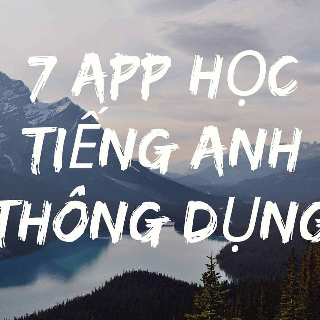 7 app hoc tieng anh hieu qua